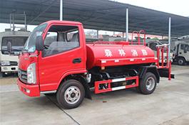 凯马小型3吨(方)消防洒水车